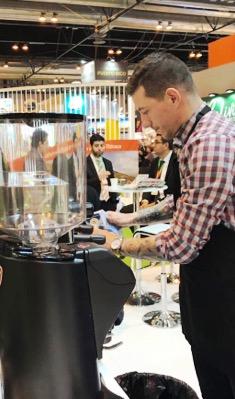 Disponemos de baristas profesionales especializados en café de alta calidad